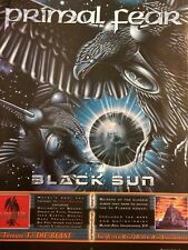 Primal Fear, Black Sun, Full Page Promotional Ad