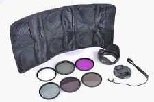 58mm UV CPL FLD ND Filter Lens Hood Cap For Canon EOS 450D 500D 600D 1100D DSLR