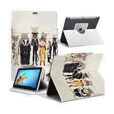 """Housse Etui Motif MV04 Universel L pour Tablette Polaroid Rainbow+ 10,1"""""""