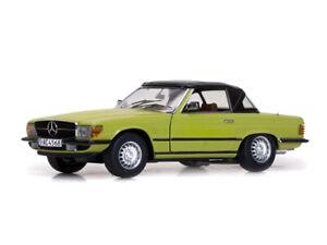 SUNSTAR 4568 4569 MERCEDES BENZ 350 SL convertible / hard top model cars 1:18th