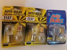 Lot of 6 Victor V-1157 Automotive Turn Signal Tail Light Lamps Light Bulbs 12V