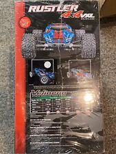 Traxxas Rustler Truck RC Limited Edition Silver Blue Exclusive 4x4 VXL New i Box