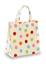 COOKSMART Spots PVC Bag, Multi-Colour, Small Canvas Bag