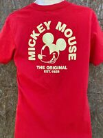 NEFF Mickey Mouse Disney Collection Red  Tee T Shirt M Skate skater