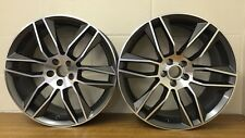 """20"""" GUNMETAL & POLISH STAGGERED TO FIT JAGUAR NEW XF,TYPE F,FORD MONDEO,VOLVO"""