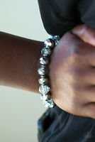 Paparazzi Jewelry Bracelet ~Beautifully Bewitching - Silver ~NWT - 5081