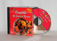 Campbell's All-American Recipes . Appetizers, Snacks, Main Dishes & More! CD-ROM