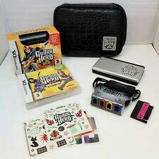 Nintendo DS Lite Handheld Console with Guitar Hero: On Tour / Decades Game & Bag