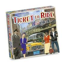 Ticket To Ride New York Board Game Travel 60s NY City In Style by Days Of Wonder