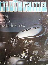 revue MOTORAMA 1973 HONDA 250 XL / YAMAHA 350 RD / MAICO / CHARADE / N° 29