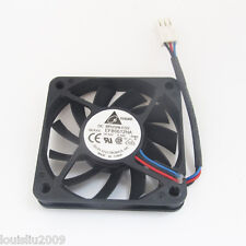 50pcs DELTA EFB0612HA 60x60x10mm 6010 DC12V 0.18A 3pin Connector DC Cooling fan