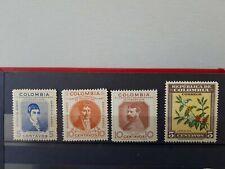 timbres Colombie Aero 1937 n° 156, 157 + café NEUF **
