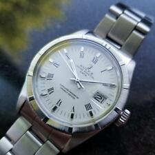 Rolex Uomo Ostrica Perpetuo Data 1501 Automatico circa 1971 Svizzero Lusso MS128
