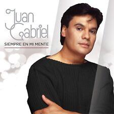 CD - Juan Gabriel Siempre En Mi Mente 2 CD's + 1 DVD FAST SHIPPING !
