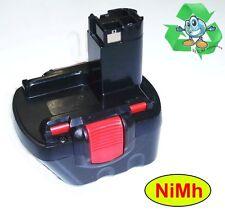 D'origine Bosch Piles 12 V 1,5 Ah NiCd 2607335541 avec Accumulateurs NiMh 2,2 ah
