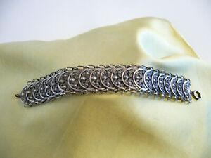 antikes Friedrich Knödler armband 835 silber 18cm.lang
