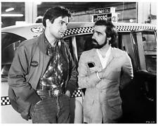 Taxi Driver on set 8x10 still Robert DeNiro & Martin Scorsese - g502