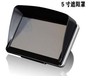 """5"""" Inch GPS Visor Anti Glare Sun Shade"""