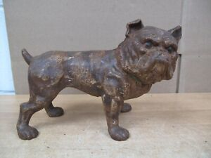 CORBETT STEEVES BULLDOG CAST IRON DOORSTOP Vintage Antique English Bull Dog