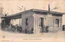 CPA 52200 LANGRES Gare de la crémaillère cafés CARVALHO Edt MARLIN