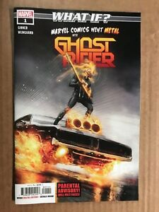WHAT IF? MARVEL WENT METAL WITH GHOST RIDER #1 FIRST PRINT MARVEL COMICS (2018)