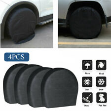Waterproof Tire Covers Set Of 4 Wheel&Tyre Rv Trailer Camper Sun Protector 32""