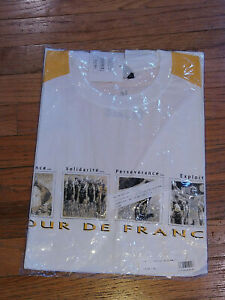 Official Tour de France T-Shirt New: Size Large