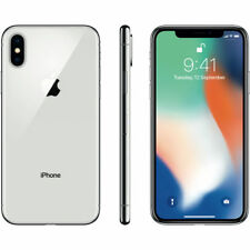 APPLE IPHONE X 64 Go ARGENT SMARTPHONE débloqué 4G ECRAN 5,8 Pouces 64GO