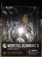 Arcadeblock - Mortal Kombat X Scorpion Bobblehead Statue - SDCC Mezco