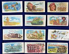Israel IDF 1950'- 60' 12 Postcard New Year Shana Tova GREETING ARMY Paratroopers