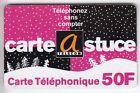 FRANCE TELECARTE / PHONECARD PREPAYEE .. 50F A.TELECOM ASTUCES NOEL 11/99 +N°