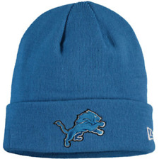 Detroit Lions New Era NFL Solid Cuffed Knit Hat