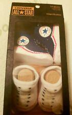 ♡CONVERSE Infant Crib Shoes Boy Girl Booties Baby Newborn Socks Soft 0-6 Months♡