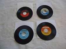 "A LOT OF 4 ROCK 7"" 45 SINGLES FROM 1977: STEVE MILLER, DAVE MASON ALL EXC. VG+"
