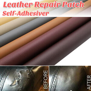 Leather Sofa Repair Self-Adhesive Patch No Ironing Repairing PU Fabric Patches-A