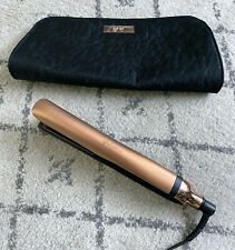 "GHD LUXE PLATINUM 1"" Professional Styler Flat Iron Hair Straightener COPPER +Bag"
