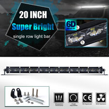 SLIM 20INCH 1200W LED WORK LIGHT BAR Singal ROW DRIVING LAMP FOR UTE ATV SUV 4WD