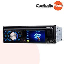 "XTRONS Head Unit Single 1 DIN Car MP3 Player 3"" HD Stereo Radio USB SD AUX FM"