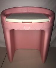 Vintage Little Tikes Tykes Pink Vanity Desk Girls Child Size
