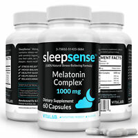 SleepSense™ Natural Sleep Stress Relief Mood Balancing - 60 Capsules