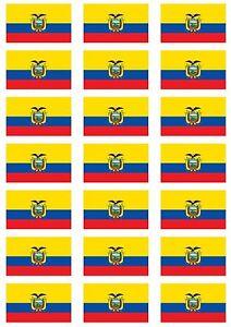 Ecuador Flag Sticker Sheet