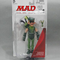 MAD DC Just Us League Of Stupid Heroes Alfred E. Neuman GREEN ARROW Figure #DS3