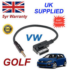 ORIGINALE VW GOLF MMI 000051446d 3.5 MM JACK MP3 IPOD in Auto Cavo di ricambio