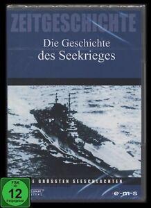 DVD DIE GESCHICHTE DES SEEKRIEGES - SEESCHLACHTEN - Zweiter Weltkrieg ** NEU **