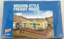 HO Scale Mission-Style Freight House Structure Kit - Walthers #933-2921