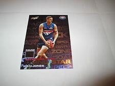 WESTERN BULLDOGS LIAM JONES 2012 AFL SELECT CHAMPIONS RISING STAR RS24 CARD
