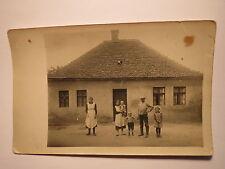 Schmergow bei Groß Kreutz - Familie Habedank 1909 vor Geburtshaus Oma ... / Foto