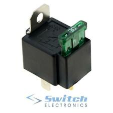 Fused On//Off Automotive Fused Relay 12V 30A 4-Pin Normally Open Car Bike 4pcs UK