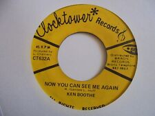 """New ListingKen Boothe Now You can See Me Again Clocktower Soul Cover Reggae 7"""" Hear"""