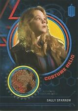 """Doctor Who Extra Terrestrial: Blue """"Sally Sparrow"""" Costume Relic Card #82/99"""